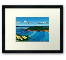 The Bower Framed Print