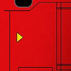 Dexter the Pokédex (For iPhone 4S/4 Deflector Case) by tdx00