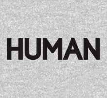 HUMAN by FreshThreadShop
