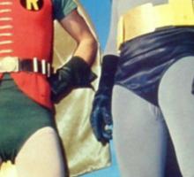 Batman and Robin 60's Sticker