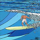 Classic Wave Series ~ Headless Surfer by ReoSurf