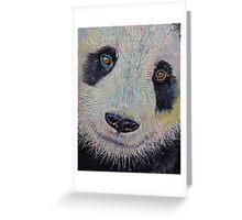 Panda Greeting Card