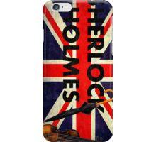 Sherlock Holmes Union Jack iPhone Case/Skin