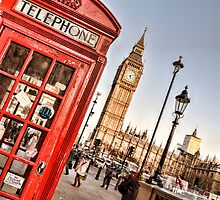 Red Telephone Booth - London by eic10412