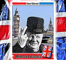 Winston Churchill by JoelCortez