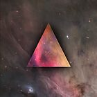 Space Triangle Nebula by dvdan