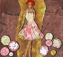 Paper Doll 6 by Adri Reyneke
