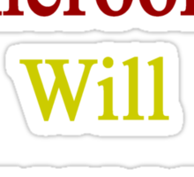 This Cameroonian Will Overcome Cancer  Sticker