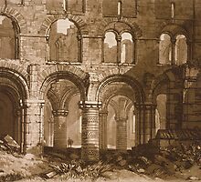 Holy Island Cathedral by Bridgeman Art Library