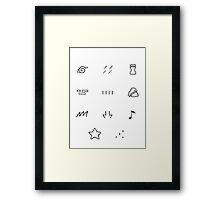 The Hidden Villages Framed Print