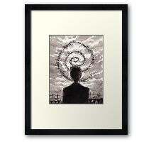 Carcosa's Spiral Framed Print