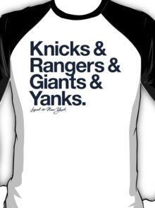 Loyal to New York (Navy Print) T-Shirt