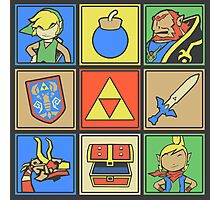 Zelda Pop Art Photographic Print