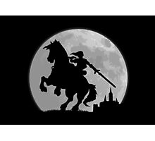 A Moonlight Ride Photographic Print