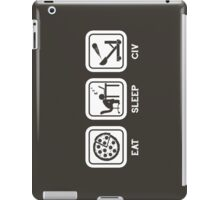 Eat, Sleep, Civ iPad Case/Skin
