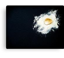 Griddled Egg  Canvas Print