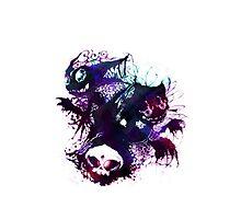 Dark Pokemon (Sableye, Gastly, Haunter) by Wolverien24