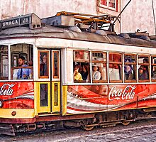 Electric Trolly of Lisbon by David Letts