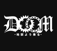DOOM - Ride Like Hell (japanese white) by DarkSkais