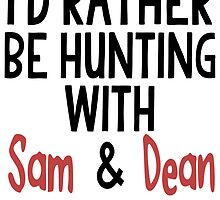 Hunting With Sam & Dean by PatiDesigns