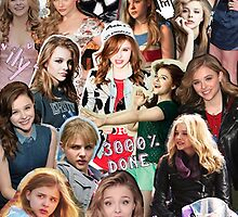 Chloe Moretz Collage by Kawooza