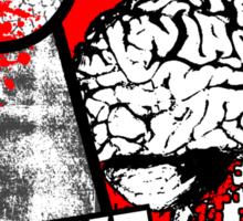 I Like Brains Sticker