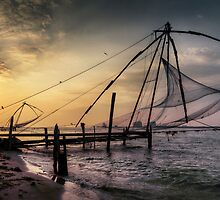 Kochi sundown.  by DaveBassett