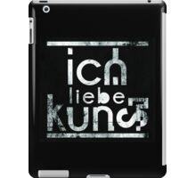 ICH LIEBE KUNST iPad Case/Skin