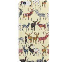 cream spice deer iPhone Case/Skin