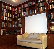 Beautiful style closet office or library by officiale