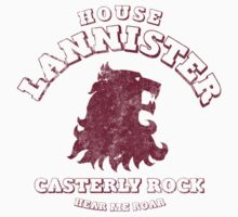 Game of Thrones House Lannister 2 by nofixedaddress