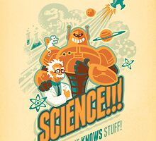 Science!!! It Knows Stuff! by Waynem79