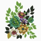 Flower print by Linn Warme