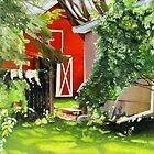 Marilyn's Yard, Tweed, Ontario by P. Leslie Aldridge