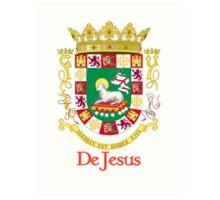 DeJesus Shield of Puerto Rico Art Print