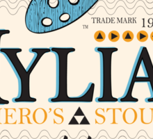 Hylian Hero's Stout Sticker