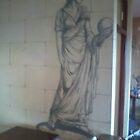Romanesque Mural by imajica