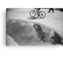 Cloud bicycle Canvas Print