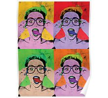 Miley Warhol Poster