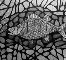 251 - PERCH - DAVE EDWARDS - INK - 2014 by BLYTHART