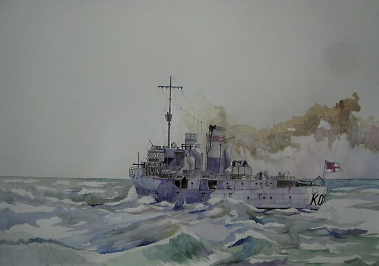 HMS Spiraea by Ray-d