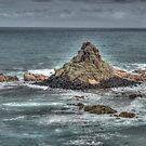 Pyramid Rock, Phillip Island, Victoria by Adrian Paul