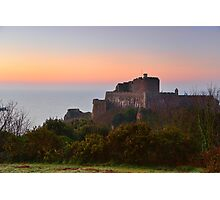Mont Orgueil Photographic Print