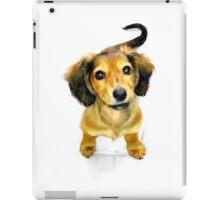 Pip the Mini Dachshund Pup iPad Case/Skin