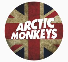Arctic Monkeys Logo Circle UK Dark by gakest