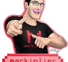 Markiplier (Warfstache) by TheRandomPerson