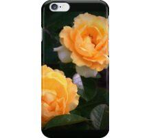 Yellow garden roses iPhone Case/Skin