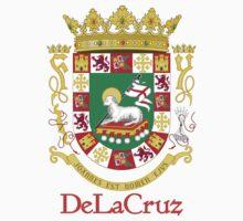 DeLaCruz Shield of Puerto Rico by William Martin