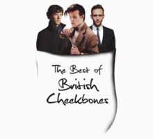 The Best of British Cheekbones Pocket by Redsdesign