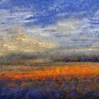 Sunset Field by RC deWinter